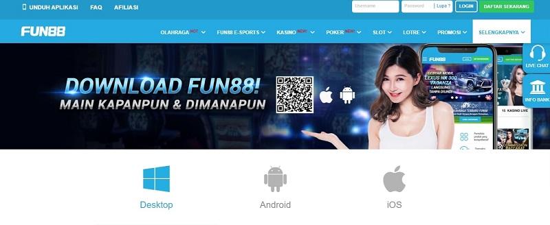 Fun88 Android: Penjelasan Lengkap Aplikasi Fun88