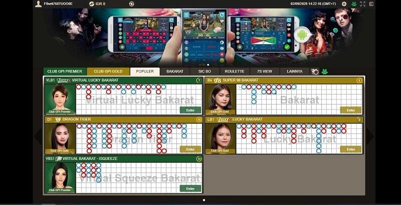 Kaya Raya Bermain Judi Baccarat Online Android