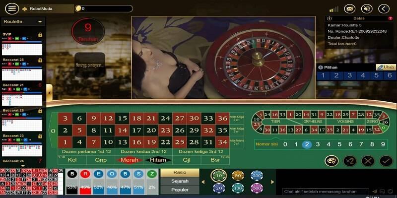 Games Live Online: Roulette Fun88