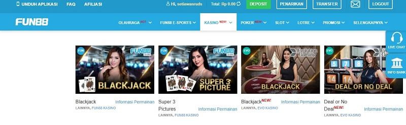 Casino Fun88 Online