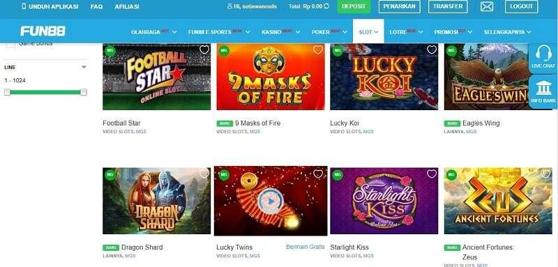 Slot Games Paling Beragam dari Microgaming